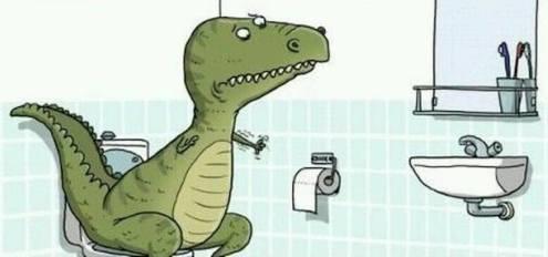 t rex toilet paper