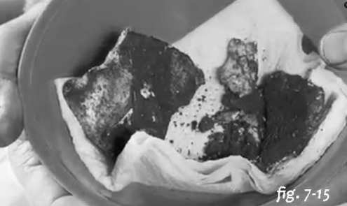 7-15 skull in a bowl